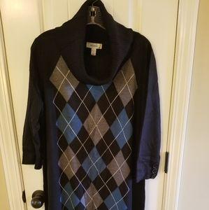 Dressbarn Sweater Dress